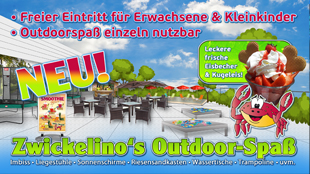 ZWICKELINOs Outdoor-Spass